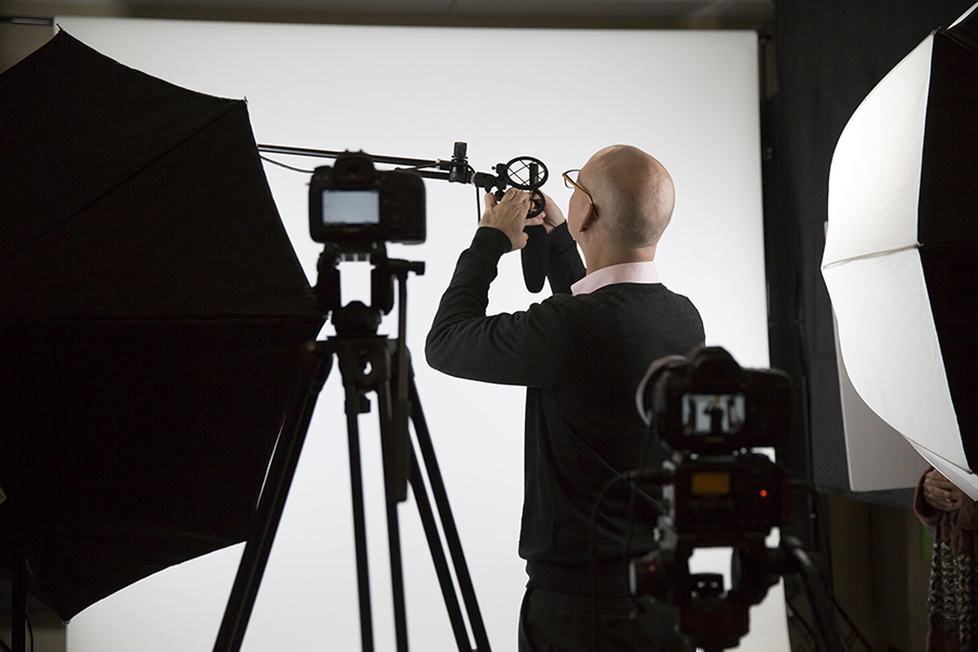TJX video shoot
